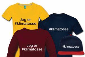 Jeg er Klimatosse - t-shirt, hoodie, hættetrøje - #klimatosse