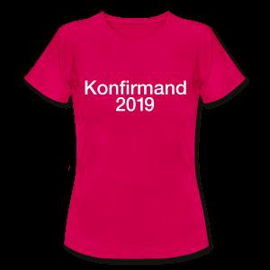 Konfirmand 2019 - som tryk på t-shirt m.m.