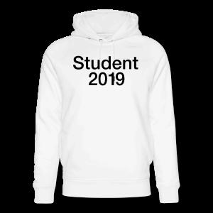 Student 2019 - som tryk på t-shirt m.m.
