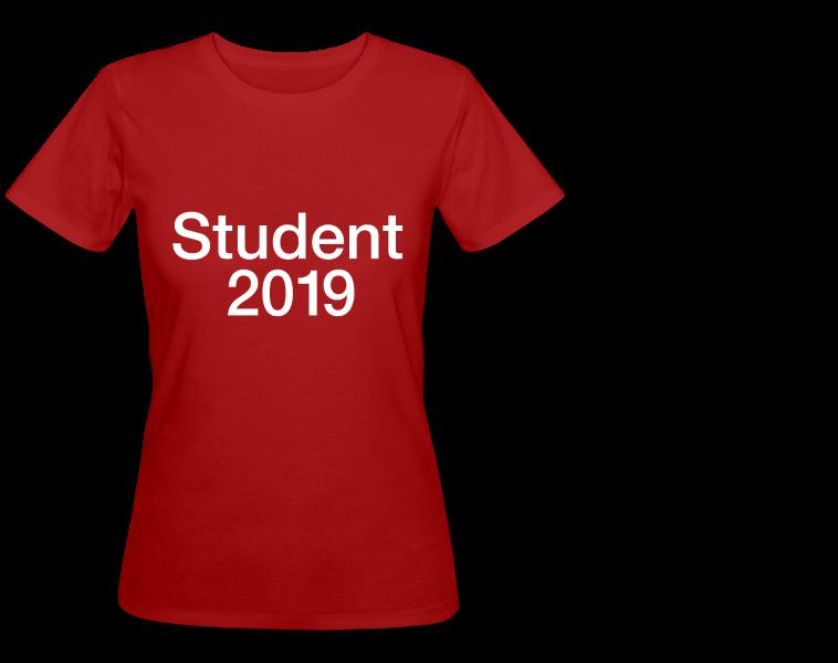 Student 2019 tryk på t-shirt